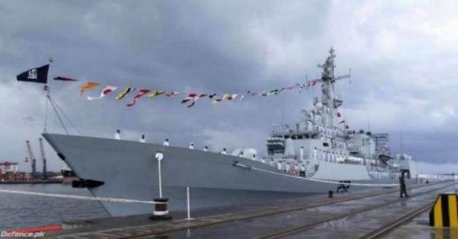 پاک بحریہ کا فریگیٹ جہاز یمن میں محصور پاکستانیوں کی امداد کے لئے روانہ