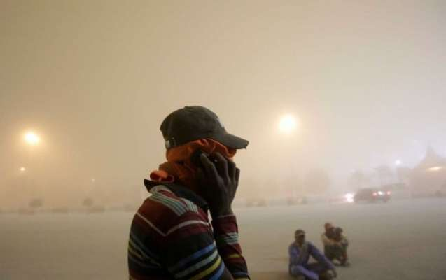 دبئی کے طوفان کے سندھ کے ساحلی علاقوں پر بھی اثرات، گرد آلود طوفانی ..