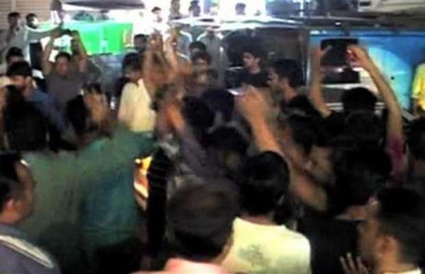 کراچی: کریم آباد واقعہ، الطاف حسین کی کارکنان سے صبر سے کام لینے کے ..