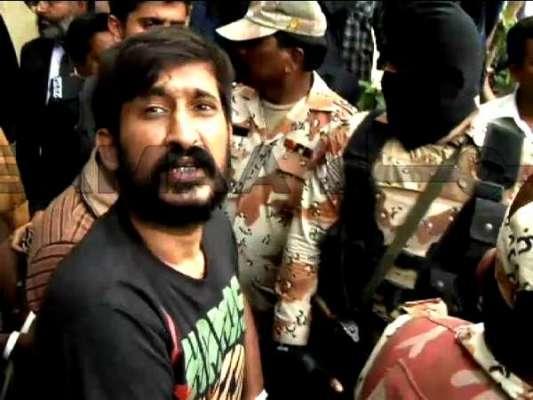 ایم کیو ایم کے مرکز نائن زیرو سے گرفتار عبید عرف کے ٹو کو گواہوں نے 2 ..