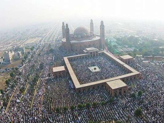 امام کعبہ شیخ خالد الغامدی کل جامع مسجد بحریہ ٹاؤن میں نماز جمعہ کا ..
