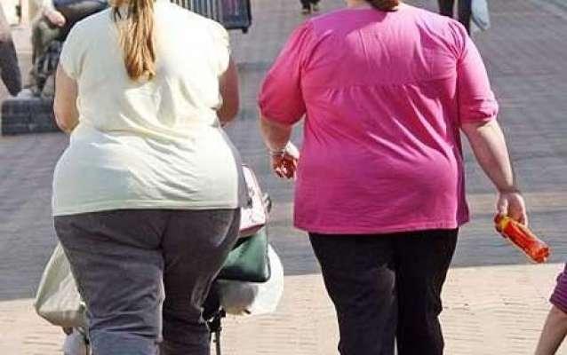 آئندہ 10 برسوں میں دنیا کی 50 فیصد سے زائد آبادی موٹاپے کا شکار ہو جا ئے ..