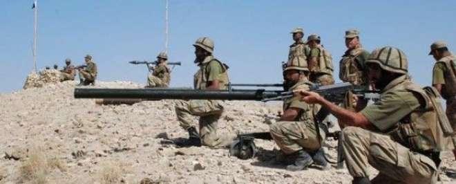 شمالی وزیرستان:سیکیورٹی فورسز کی فائرنگ سے5 دہشتگردمارے گئے