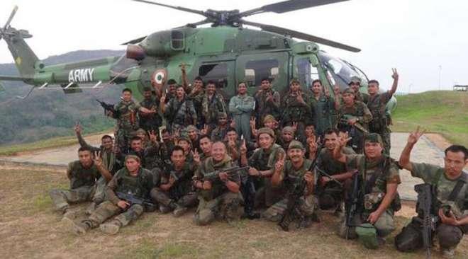 میانمار کی حکومت نے بھارت کی جانب سے میانمار میں کاروائی کرنے کے دعوے ..