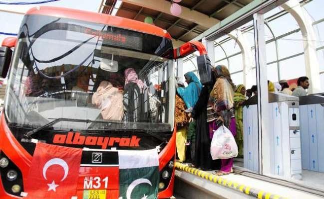 راولپنڈی اسلام آباد میٹروبس کامیاب منصوبہ ہے جس سے راولپنڈی اسلام ..