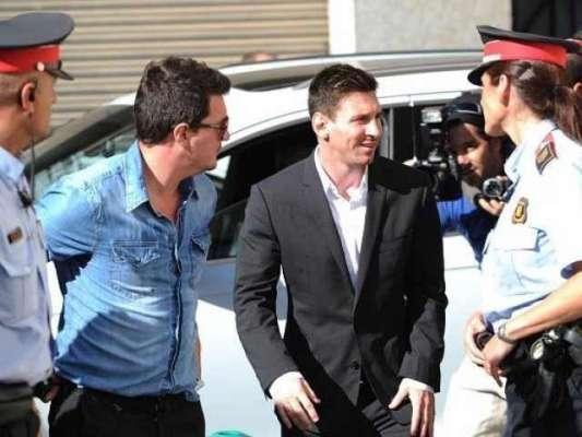 فٹ بالر میسی کی عدالت میں حاضری سے استثنیٰ کی درخواست مسترد