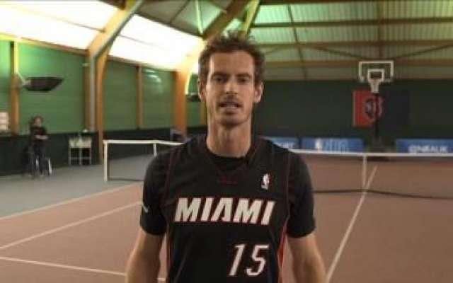 ٹینس سٹار اینڈی مرے باسکٹ بال میں جادو جگانے لگے