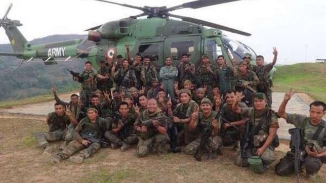 بھارت کے میانمار میں آپریشن سے متعلق بھارت کے میڈیا کے آپس میں متضاد ..