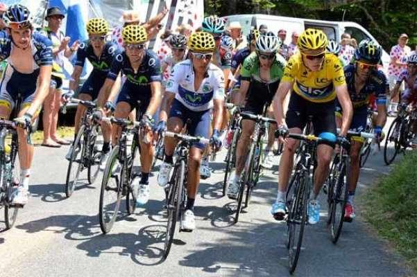 ٹور ڈی فرانس سائیکل ریس ، ونسنزو نیبالی نے پہلی پوزیشن پر قبضہ جما لیا