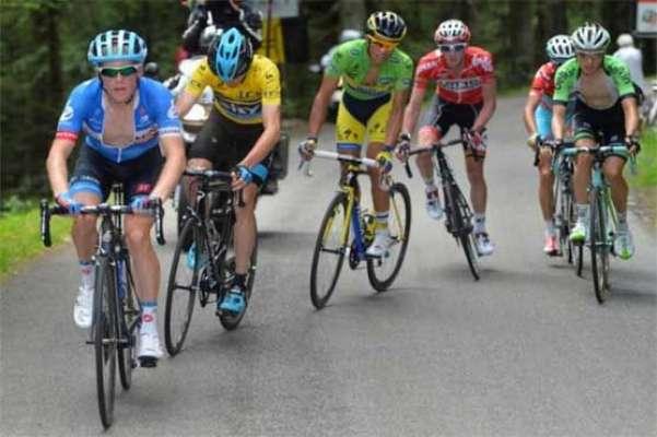 فرانس ،کرائی ٹیریم ڈوفائن سائیکل ریس کرس فروم نے جیت لی