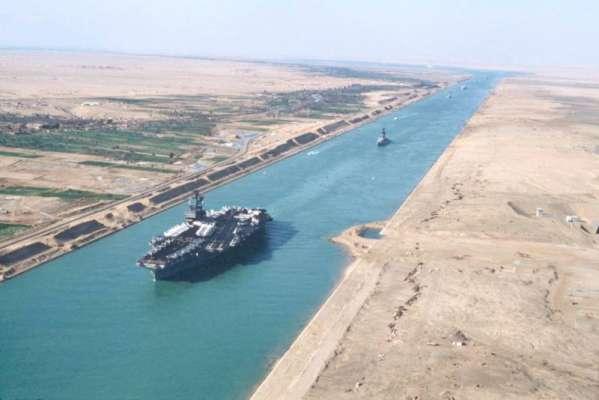 مصر میں نئی سویز کینال 6 اگست کو بحری ٹریفک کے لئے کھول دی جائے گی