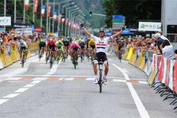 فرانس :کریٹیریم ڈاؤفن سائیکل ریس کا آٹھواں مرحلہ کرس فروم نے جیت لیا