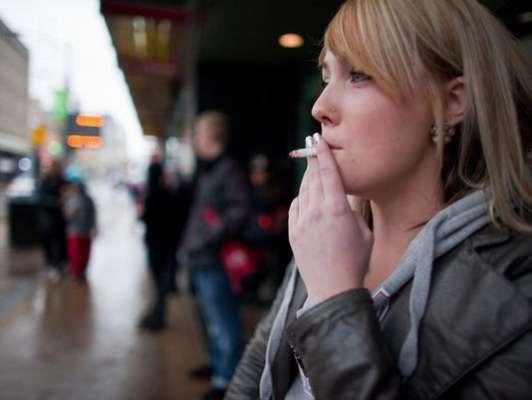 ' تمباکونوشی نوجوان خواتین میں چھاتی کے کینسرکا خطرہ بڑھادیتی ہے، ..