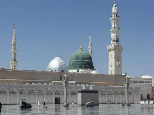 مسجد نبویﷺ میں پیش آئے افسوسناک حادثے میں 3 افراد نشانہ بن گئے