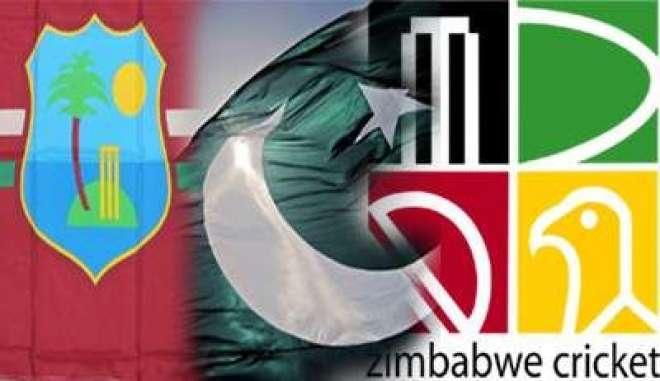 پاکستان، زمبابوے، ویسٹ انڈیز کے مابین ٹی ٹونٹی ٹرائی سیریز کا انعقاد ..