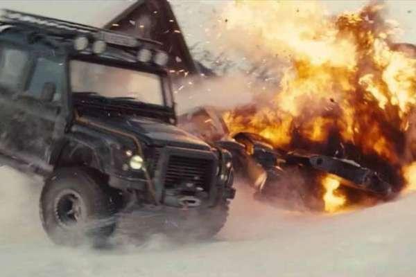 جیمز بانڈ فلم کی نئی قسط کے ایک سین کی تکمیل میں 3 کروڑ 60 لاکھ ڈالر کی ..