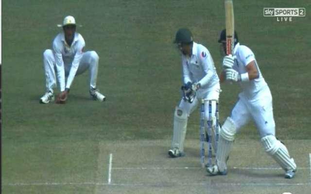 پاکستان اور انگلینڈ کے درمیان حالیہ ٹیسٹ سیریز میں امپائر کے فیصلوں ..