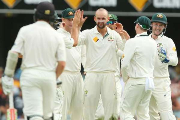 برسبین ٹیسٹ ، ٹیسٹ کے آخری روز میزبان آسٹریلیا کو جیت کیلئے 7وکٹیں ، ..