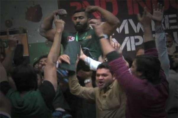لاہورمیں ہونیوالی پاک بھارت آرم ریسلنگ ٹرافی پاکستان نے جیت لی