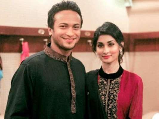گھر میں نئے مہمان کی متوقع آمد ، بنگلہ دیشی آل راونڈر شکیب اہلیہ کے ..