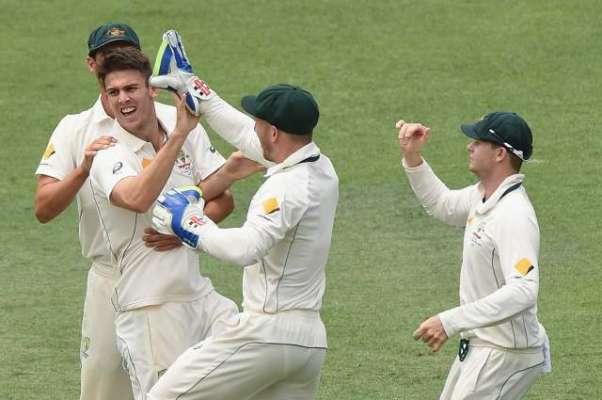 آسٹریلیا نے نیوزی لینڈ کو پہلے کرکٹ ٹیسٹ میں 208 رنز سے ہراکر سیریز میں ..