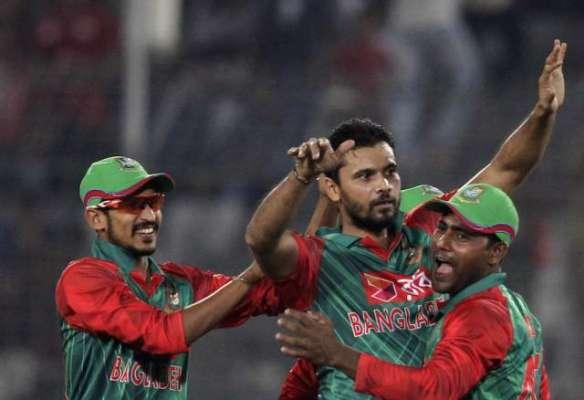 دوسرا ون ڈے ، بنگلہ دیش نے زمبابوے کو 58 رنز سے شکست دے کر سیریز میں 2-0 ..