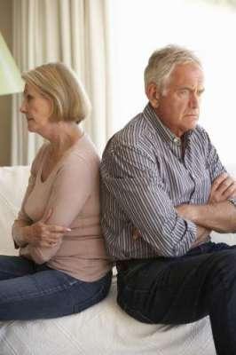 عمر رسیدہ افراد میں طلاق لینے والوں کی تعداد میں اضافہ