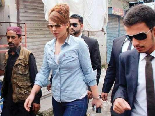 راولپنڈی :  کرنسی اسمگلنگ کیس کی مرکزی ملزمہ ماڈل ایان علی پر طبیعت ..