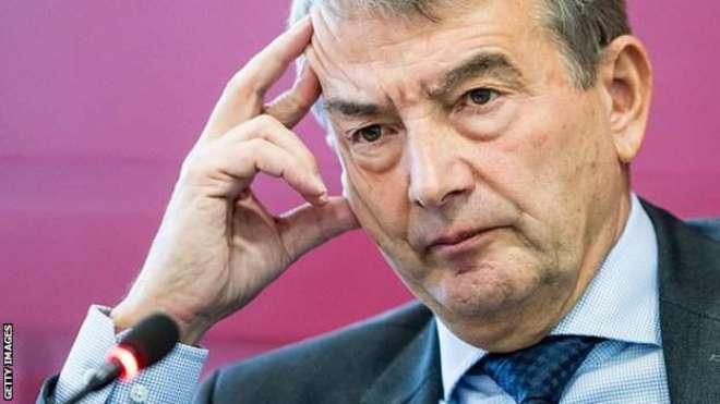 کرپشن الزامات،جرمن فٹ بال ایسوسی ایشن کے سربراہ وولف گینگ مستعفی ہو ..