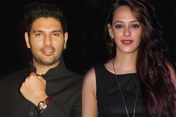 بھارتی کرکٹ ٹیم کے بلے باز یوراج سنگھ نے منگنی کر لی