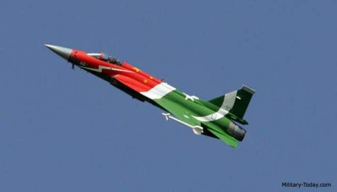 پاکستان اور چین کی مشترکہ کاوشوں سے تیار کردہ فائٹر جیٹ جے ایف 17 طیاروں ..