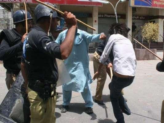 گوجرانوالہ: دو سیاسی جماعتوں کے کارکنان میں تصادم ، 5 افراد زخمی