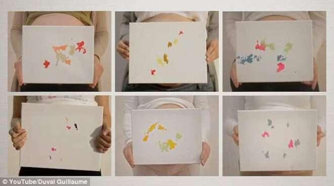 مصور بچوں نے اپنی پیدائش سے پہلے ہی تصاویر بنانی شروع کر دیں