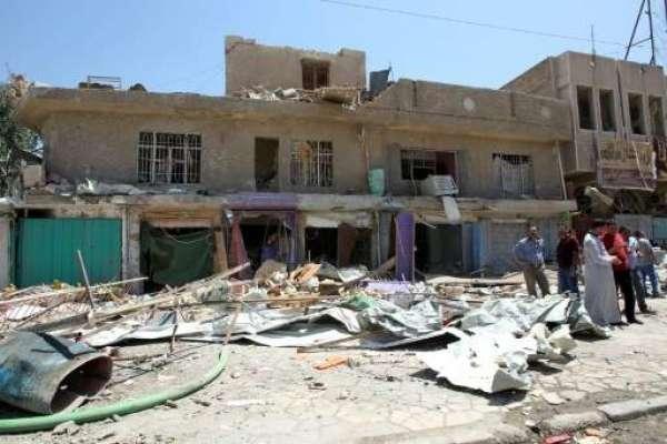 عراق ،مسجد میں جنازے کے دوران خودکش بم دھماکا ،21 افراد ہلاک،46زخمی ،ہلاکتوں ..
