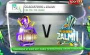 پاکستان سپر لیگ،پشاور زلمے نے کوئٹہ گلیڈی ایٹرز کو جیت کے لیے 136 رنز ..