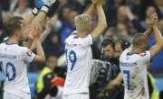 شکست کے باوجود آئس لینڈ فٹبال ٹیم کا مستقل تابناک ، کپتان