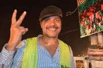 عمران خان میرے لیڈر ہیں، روزی روٹی کیلئے ن لیگ کے پروگرام میں کام کر ..