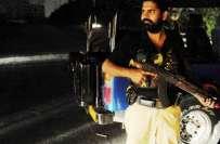 لاہور کے علاقے ساندہ شبلی ٹاون میں قانون نافذ کرنے والے اداروں کی کاروائی، ..
