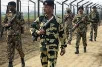بی ایس ایف کا پاکستانی سرحد کے قریب سے3 مشتبہ افراد کو اسلحہ سمیت کرنے ..