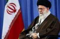 ایرانی سپریم لیڈر آیت اللہ خامنائی کی جانب سے سعودی کونسل خانے کو جلائے ..