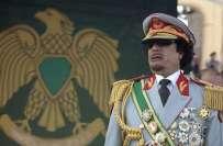 مغربی ممالک کی جانب سے اپنی معیشت کو لاحق خطرات کے باعث لیبیا کے معمر ..