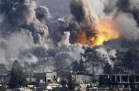 شام میں روس کی فضائی مہم کے دوران 1400 شہری ہلاک