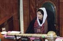 سندھ اسمبلی میں بحث کے دوران ڈپٹی اسپیکر شہلا رضا اور ایم کیو ایم کے ..