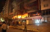 عراقی کردستان کے ہوٹل میں آگ لگنے سے غیر ملکیوں سمیت 21افراد ہلاک،درجنوں ..