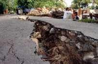 پاپا نیو گنی میں 7-6 شدت کا زلزلہ