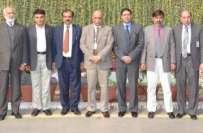 ہائر ایجوکیشن کمیشن کی ٹیم کا پنجاب یونیورسٹی کا دورہ 'گڈ گورنس اور ..