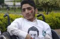 دھرنے کے دنوں میں شہرت حاصل کرنے والے پاکستان تحریک انصاف کے معروف ..