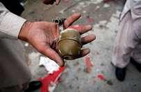 کراچی کے علاقہ چاکیواڑہ میں کریکر حملہ، 5 افراد زخمی