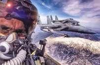 ترک پائلٹ کی سعودی فوجیوں کے ساتھ سیلفی کی غیرمعمولی پذیرائی