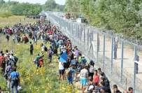 ہنگری میں 250 پاکستانیوں سمیت 1500تارکین وطن گرفتار